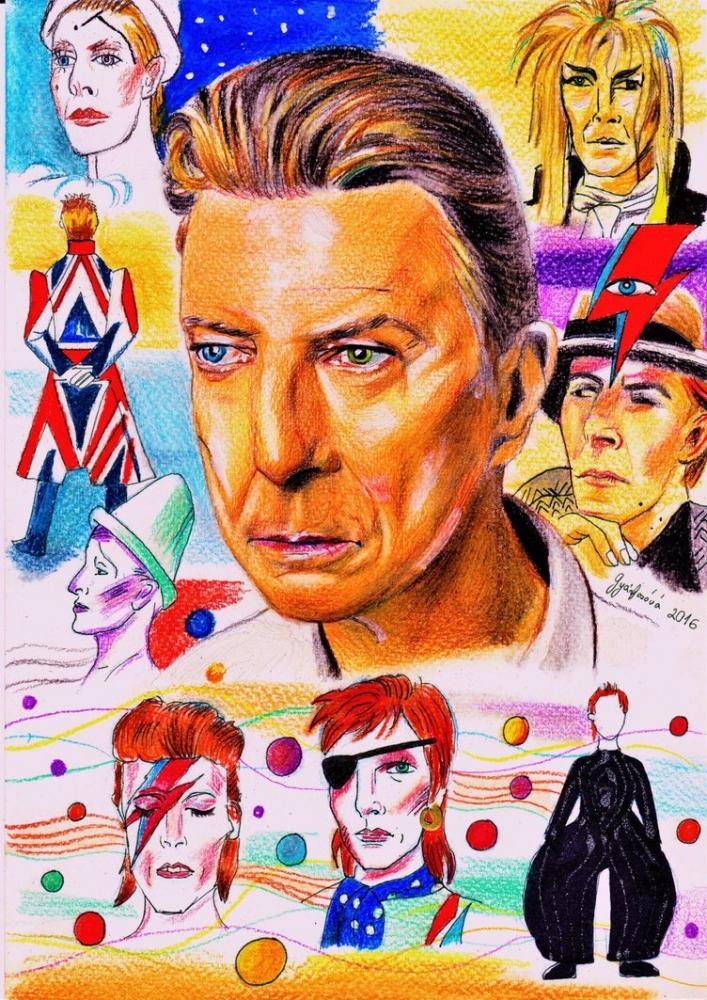 David Bowie por lilie1111